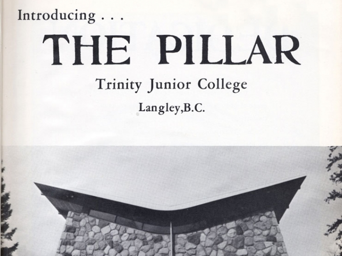 Pillar Yearbook  Cover