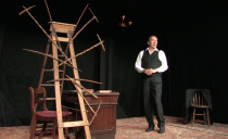One-man play at TWU to give window into the life and challenges of Charles Darwin